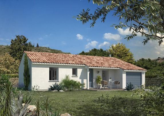 Maisons + Terrains du constructeur MAISON FAMILIALE • 87 m² • LE MUY