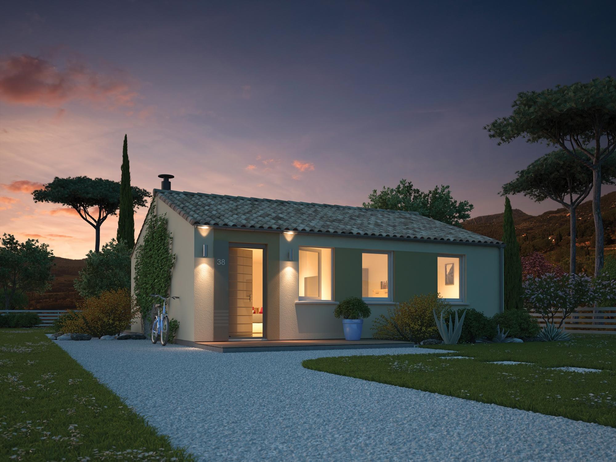 Maisons + Terrains du constructeur MAISONS PHENIX • 70 m² • SAINT VALLIER