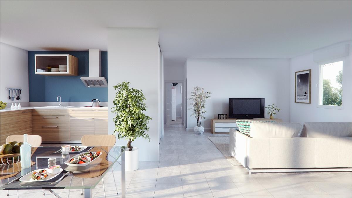 Maisons + Terrains du constructeur MAISONS PHENIX • 89 m² • BOURG DE PEAGE