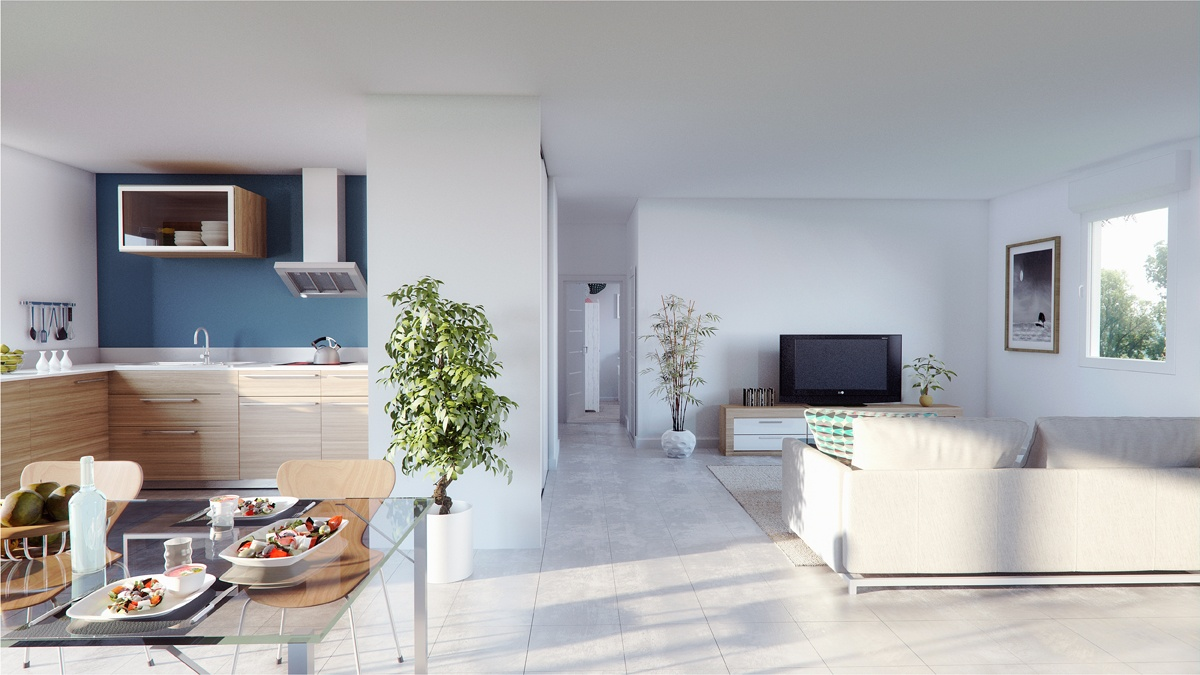 Maisons + Terrains du constructeur MAISONS PHENIX • 89 m² • ROMANS SUR ISERE