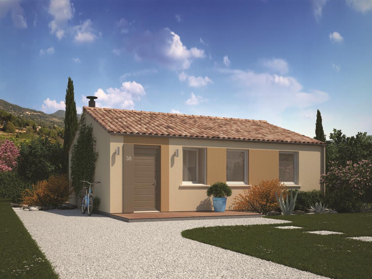 Maisons + Terrains du constructeur MAISONS PHENIX • 70 m² • LIVRON SUR DROME