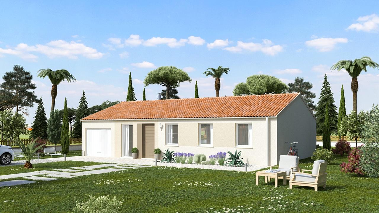 Maisons + Terrains du constructeur MAISONS PHENIX • 89 m² • CHANTEMERLE LES GRIGNAN