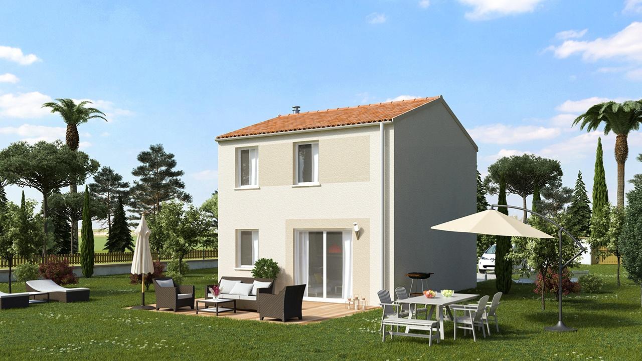 Maisons + Terrains du constructeur MAISONS PHENIX • 82 m² • GENISSIEUX