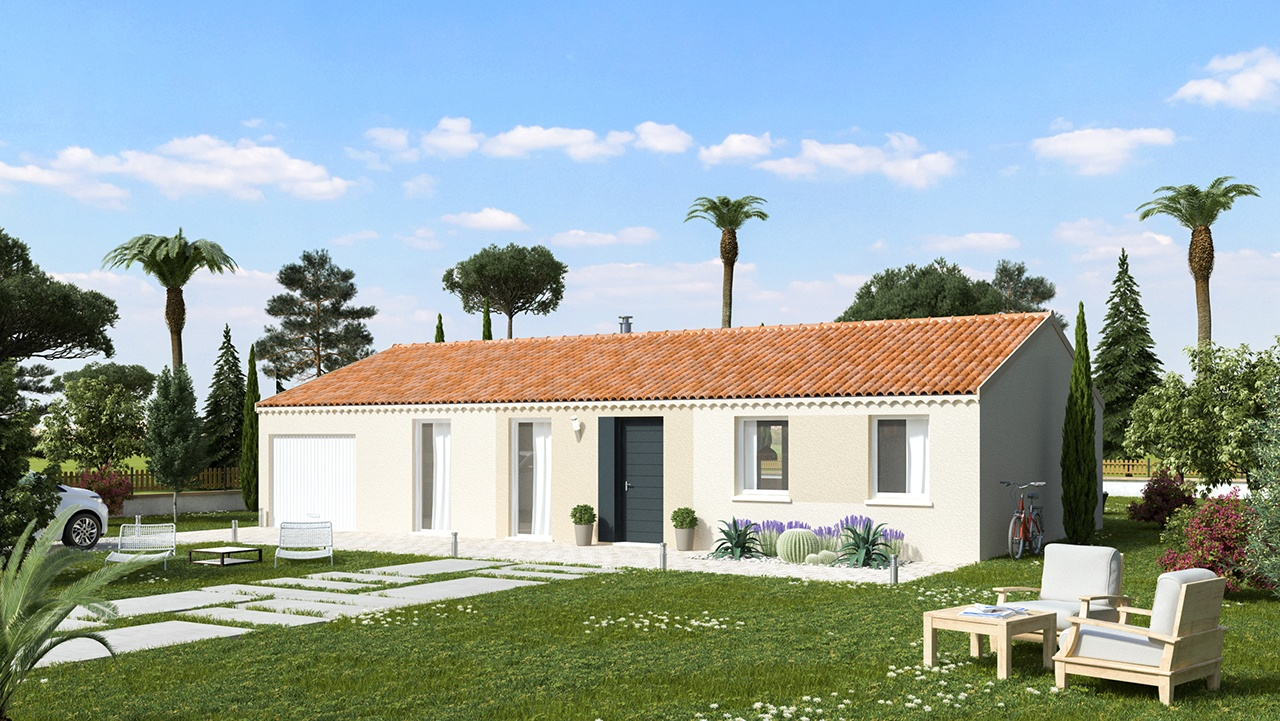 Maisons + Terrains du constructeur MAISONS PHENIX • 99 m² • CHATEAUNEUF DE GALAURE