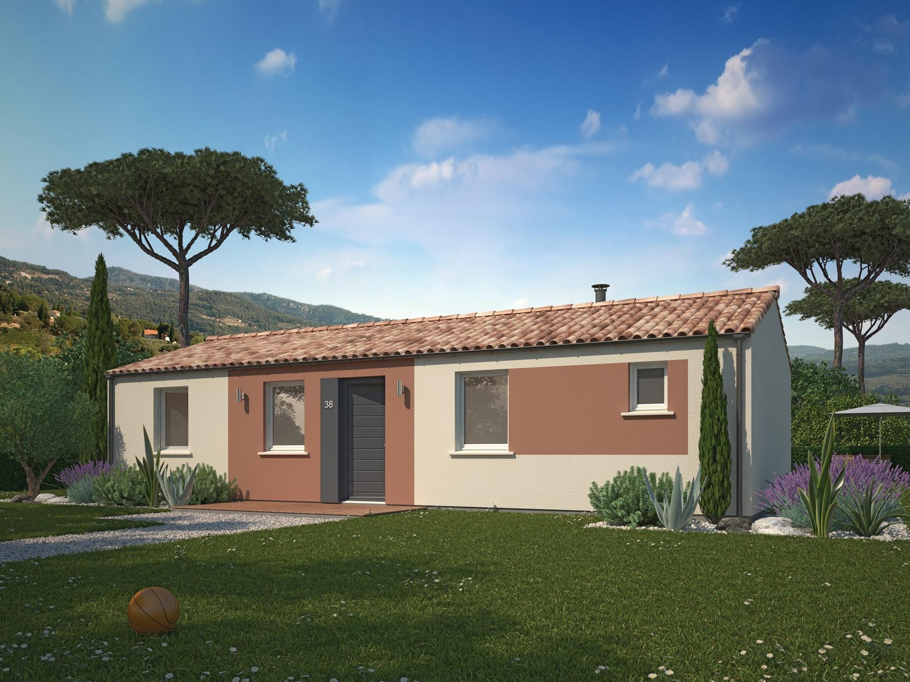 Maisons + Terrains du constructeur MAISONS PHENIX • 97 m² • CLEON D'ANDRAN