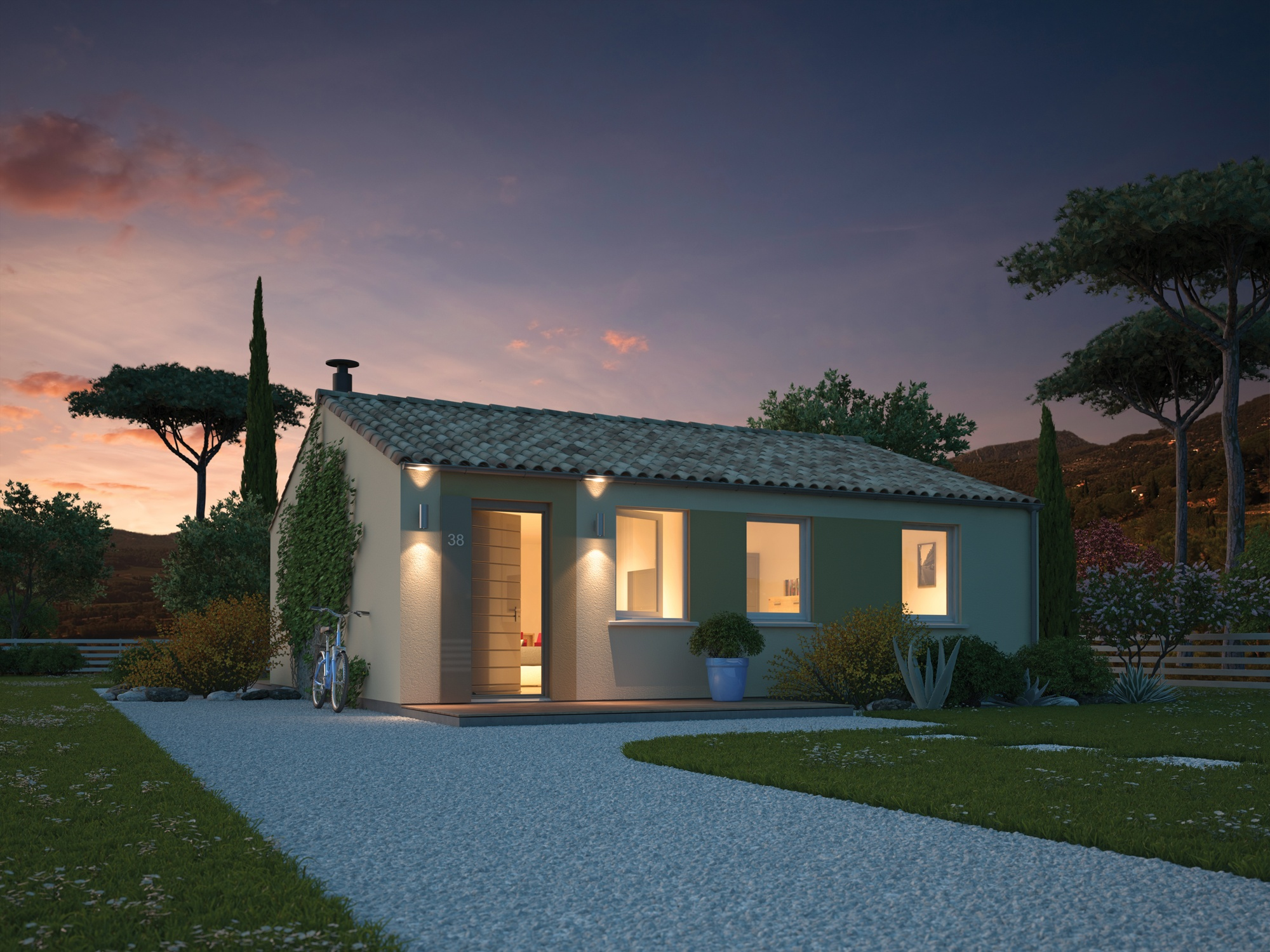 Maisons + Terrains du constructeur MAISONS PHENIX • 70 m² • CHATUZANGE LE GOUBET