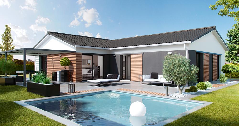 Maisons + Terrains du constructeur SO'9 HABITAT • 115 m² • ARSAC