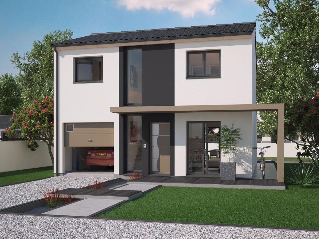 Maisons + Terrains du constructeur SO'9 HABITAT • 110 m² • BLANQUEFORT