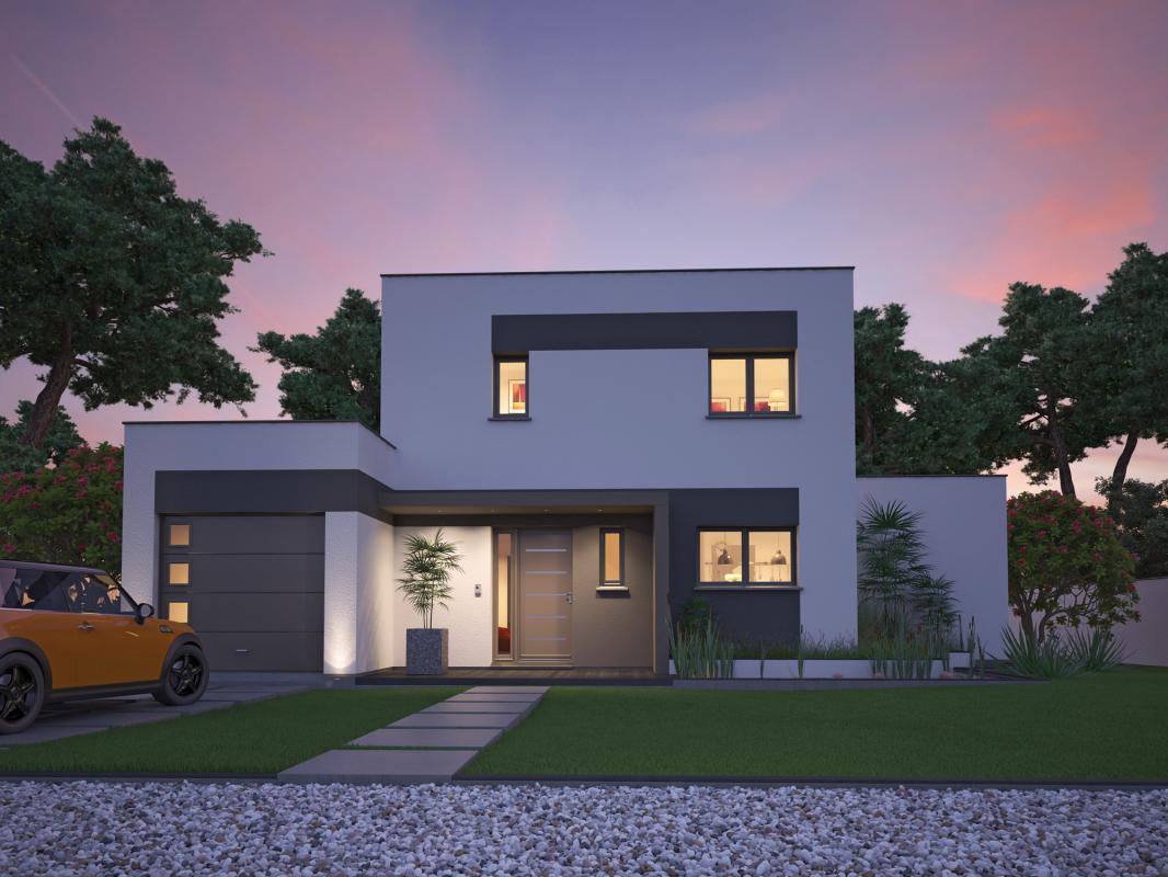 Maisons + Terrains du constructeur SO'9 HABITAT • 130 m² • PESSAC