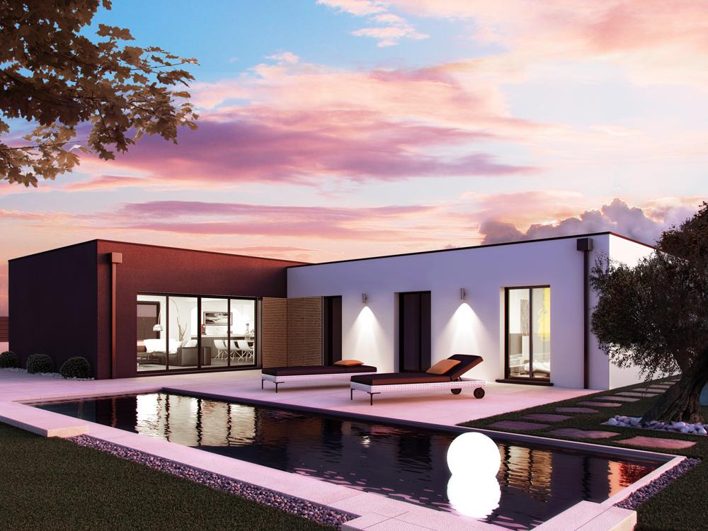 Maisons + Terrains du constructeur SO'9 HABITAT • 150 m² • MERIGNAC
