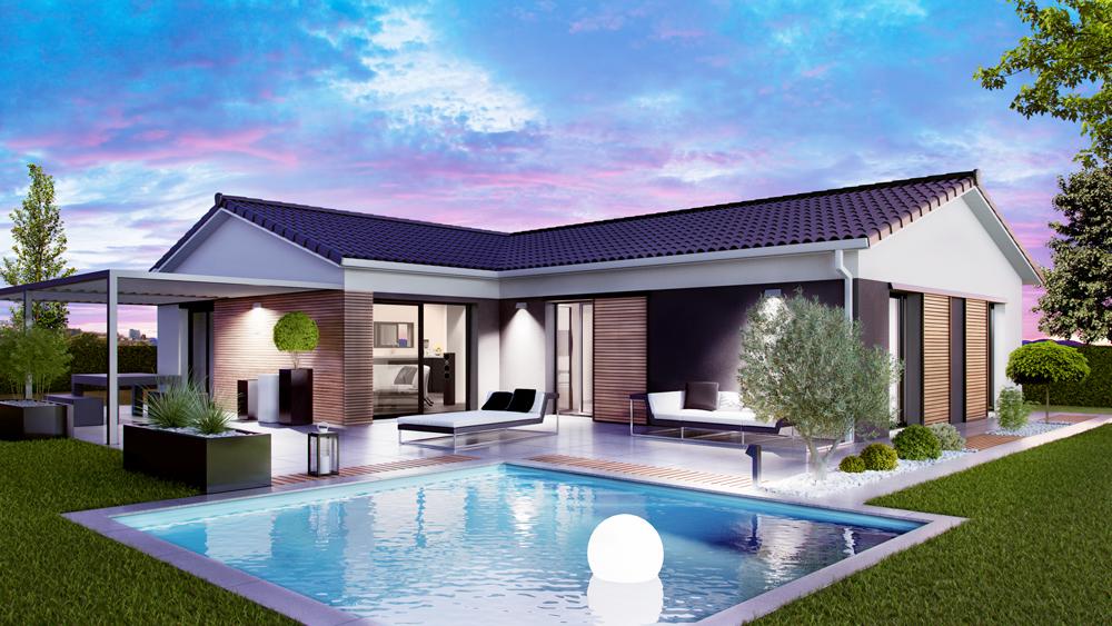 Maisons + Terrains du constructeur SO'9 HABITAT • 90 m² • PAREMPUYRE