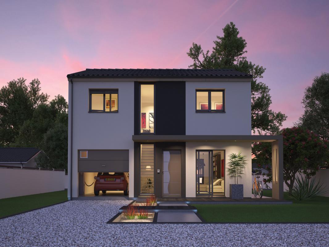 Maisons + Terrains du constructeur SO'9 HABITAT • 115 m² • BRUGES