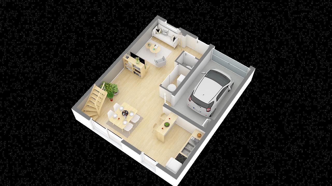 Maisons + Terrains du constructeur MAISONS PHENIX • 92 m² • ALETTE