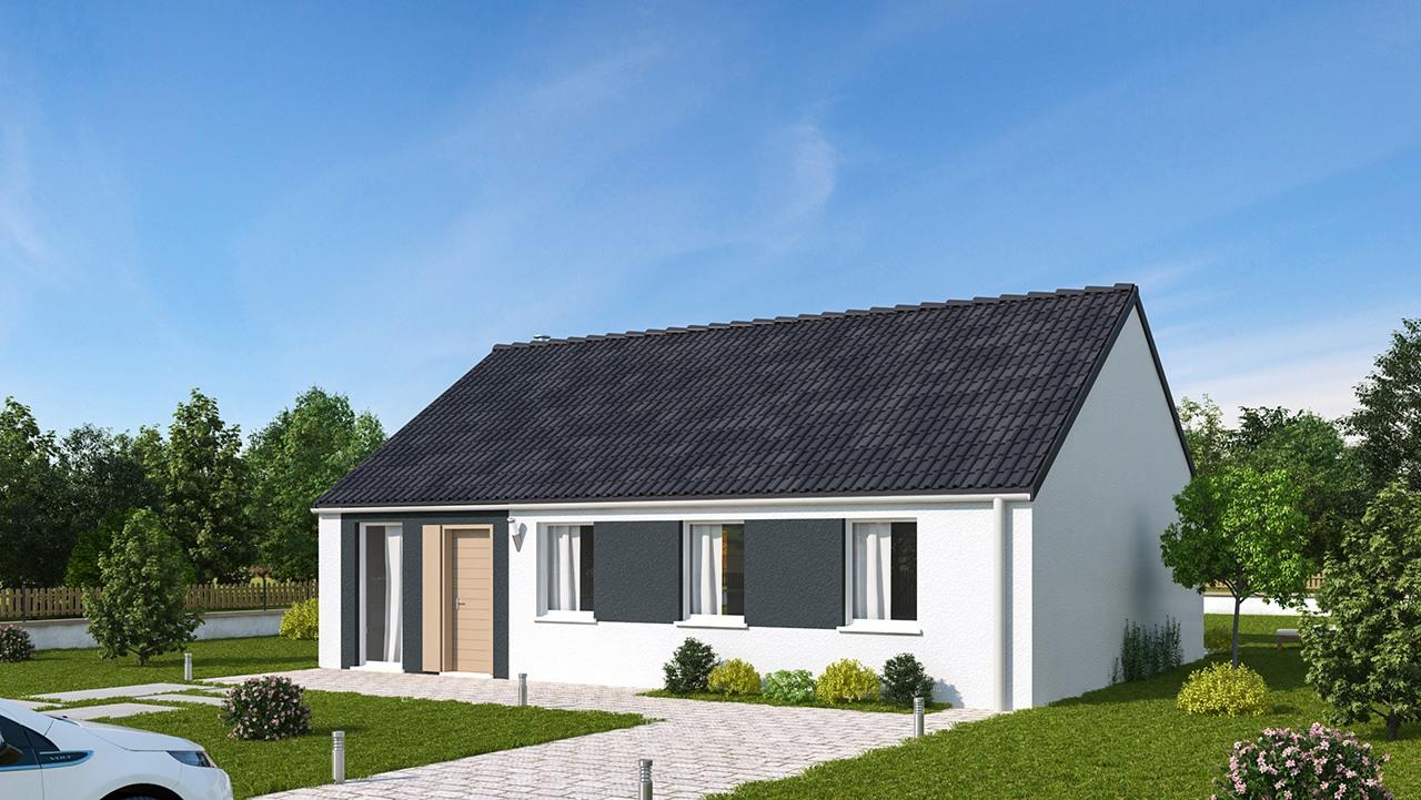 Maisons + Terrains du constructeur MAISONS PHENIX • 89 m² • RANG DU FLIERS