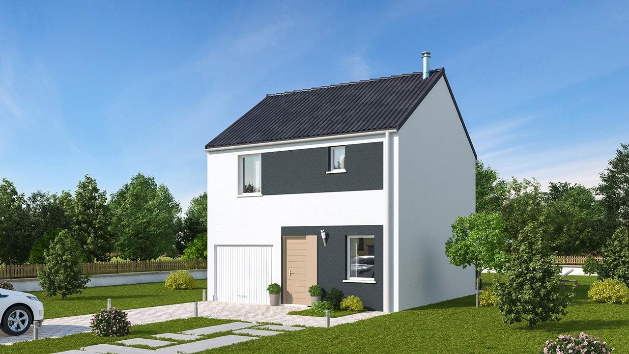 Maisons + Terrains du constructeur MAISONS PHENIX • 75 m² • HESDIN L'ABBE