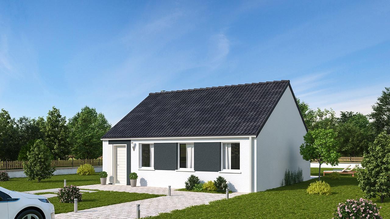 Maisons + Terrains du constructeur MAISONS PHENIX • 70 m² • CARLY