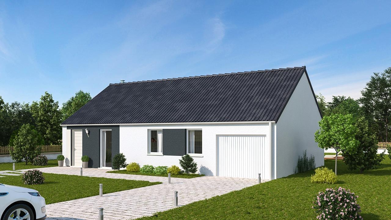 Maisons + Terrains du constructeur MAISONS PHENIX • 93 m² • BAYENGHEM LES EPERLECQUES