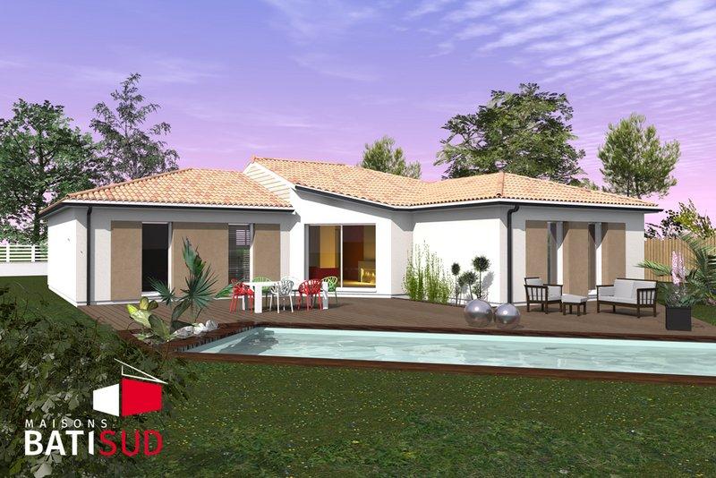 Maisons du constructeur MAISONS BATI SUD • 100 m² • SAINT PARDON DE CONQUES