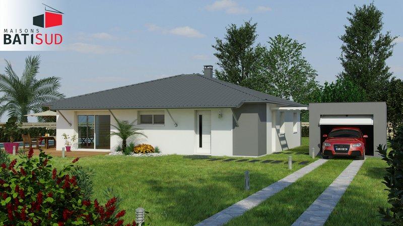 Maisons du constructeur MAISONS BATI SUD • 90 m² • SALLES