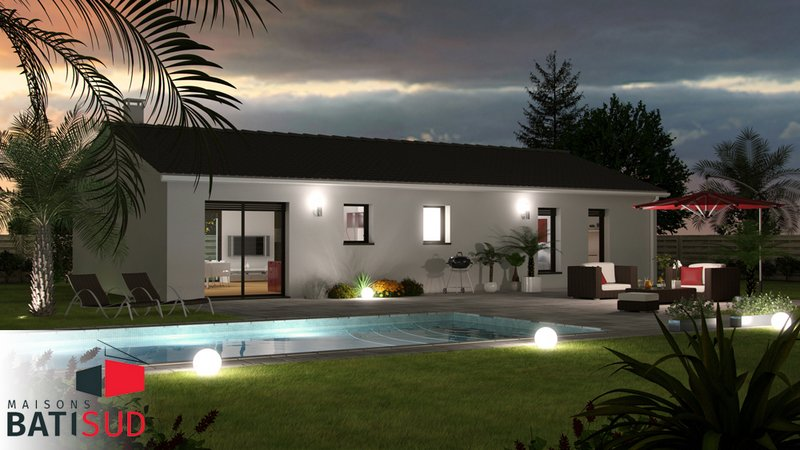 Maisons du constructeur MAISONS BATI SUD • 90 m² • TALAIS