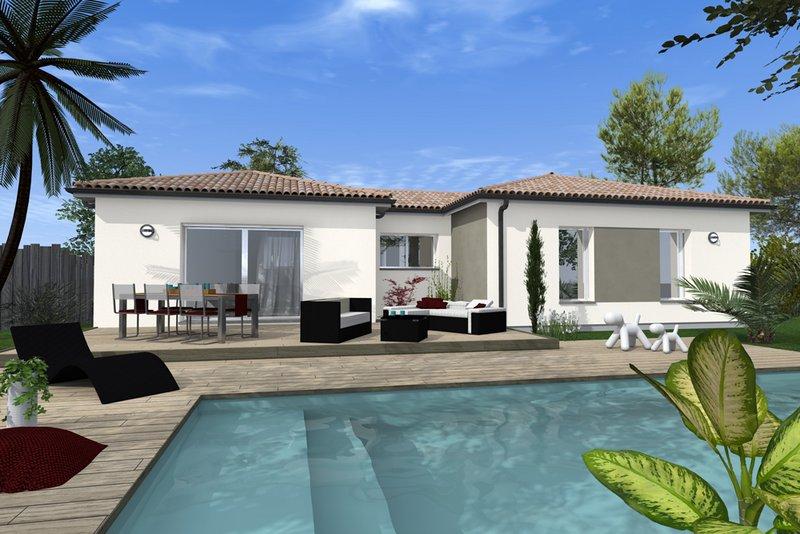 Maisons du constructeur MAISONS BATI SUD • 90 m² • MARTILLAC