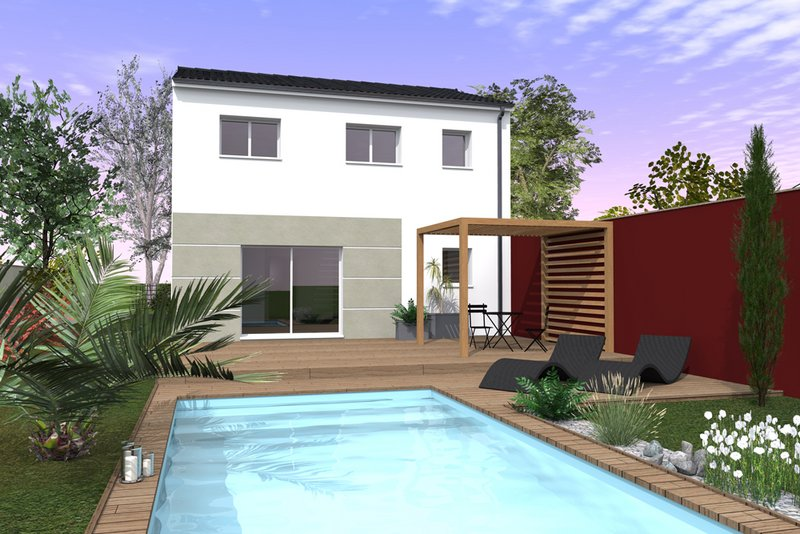 Maisons du constructeur MAISONS BATI SUD • 90 m² • GUJAN MESTRAS