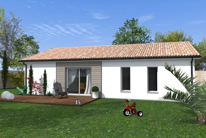 Maisons du constructeur MAISONS BATI SUD • 90 m² • SAUCATS