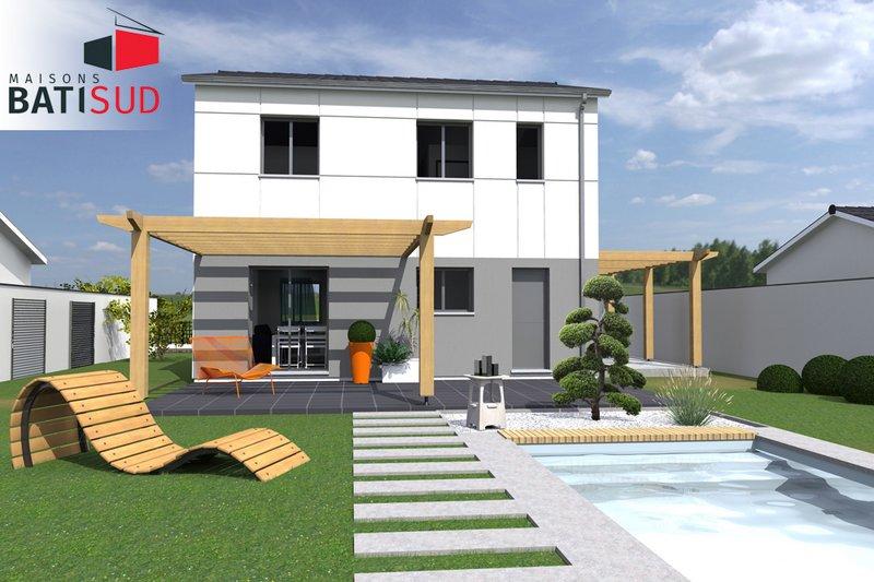 Maisons du constructeur MAISONS BATI SUD • 90 m² • LEOGNAN