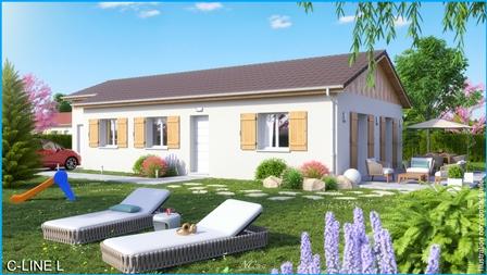 Maisons du constructeur MCA ALBERTVILLE • 82 m² • SAINTE HELENE SUR ISERE