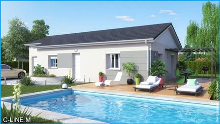 Maisons du constructeur MCA ALBERTVILLE • 72 m² • UGINE