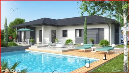 Maisons du constructeur MCA CLUSES • 101 m² • BONNEVILLE