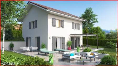Maisons du constructeur MCA CLUSES • 90 m² • CHATILLON SUR CLUSES