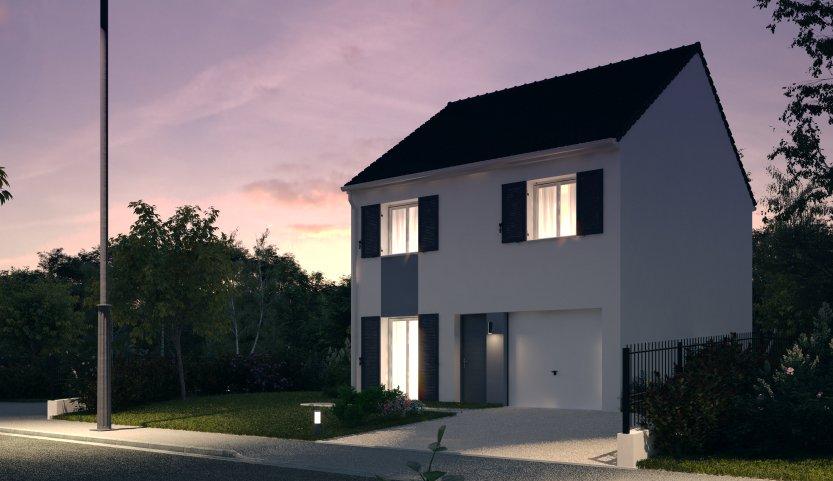 Maisons du constructeur MAISONS PIERRE MELUN • 87 m² • TOURNAN EN BRIE