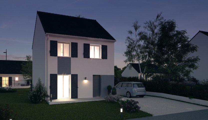Maisons du constructeur MAISONS PIERRE MELUN • 88 m² • GRETZ ARMAINVILLIERS