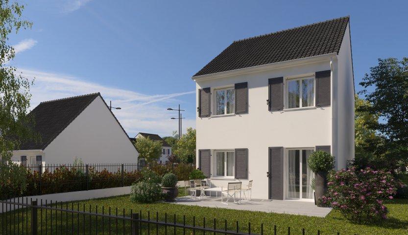 Maisons du constructeur MAISONS PIERRE STE GENEVIEVE DES BOIS • 80 m² • LONGPONT SUR ORGE