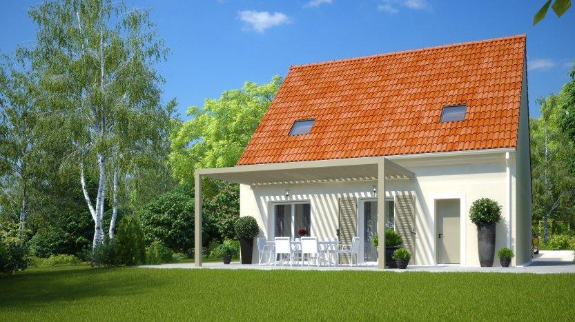Maisons du constructeur MAISONS PIERRE STE GENEVIEVE DES BOIS • 96 m² • SAINTE GENEVIEVE DES BOIS