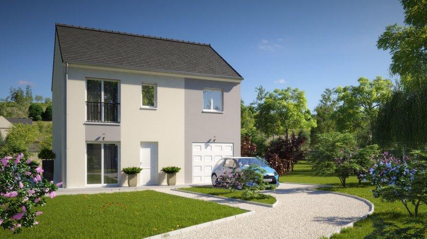 Maisons du constructeur MAISONS PIERRE STE GENEVIEVE DES BOIS • 95 m² • LINAS