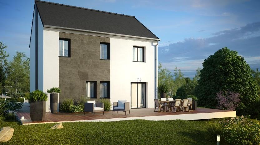 Maisons du constructeur MAISONS PIERRE STE GENEVIEVE DES BOIS • 95 m² • LARDY