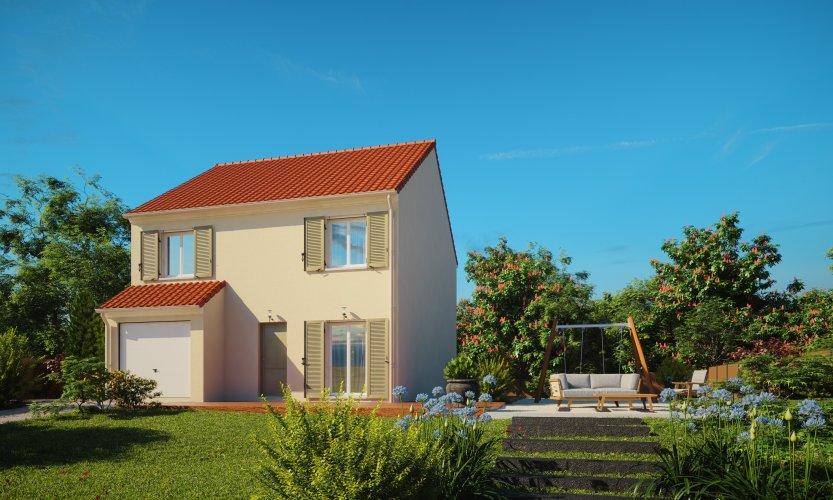 Maisons du constructeur MAISONS PIERRE STE GENEVIEVE DES BOIS • 87 m² • LINAS