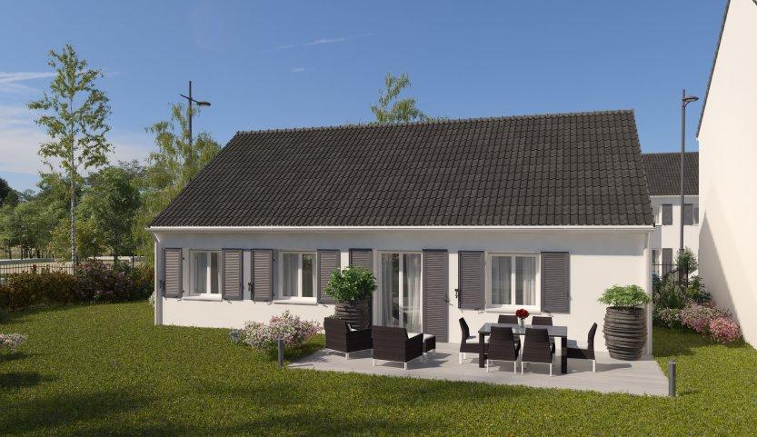 Maisons du constructeur MAISONS PIERRE STE GENEVIEVE DES BOIS • 78 m² • SAINT CHERON