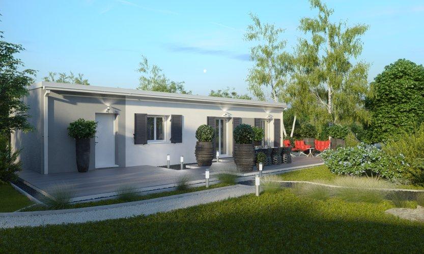 Maisons du constructeur MAISONS PIERRE NANTES SUD • 79 m² • BOUGUENAIS