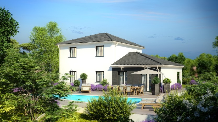 Maisons du constructeur MAISONS PIERRE NANTES SUD • 129 m² • OUDON