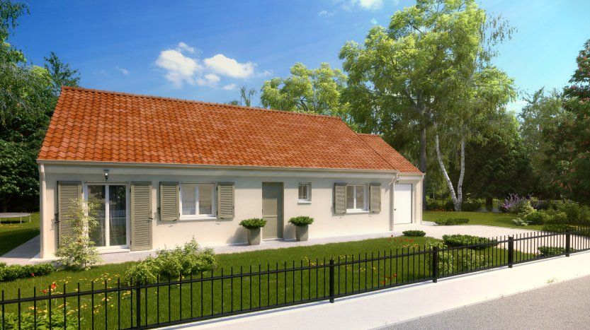 Maisons du constructeur MAISONS PIERRE NANTES SUD • 99 m² • SAINT JULIEN DE CONCELLES