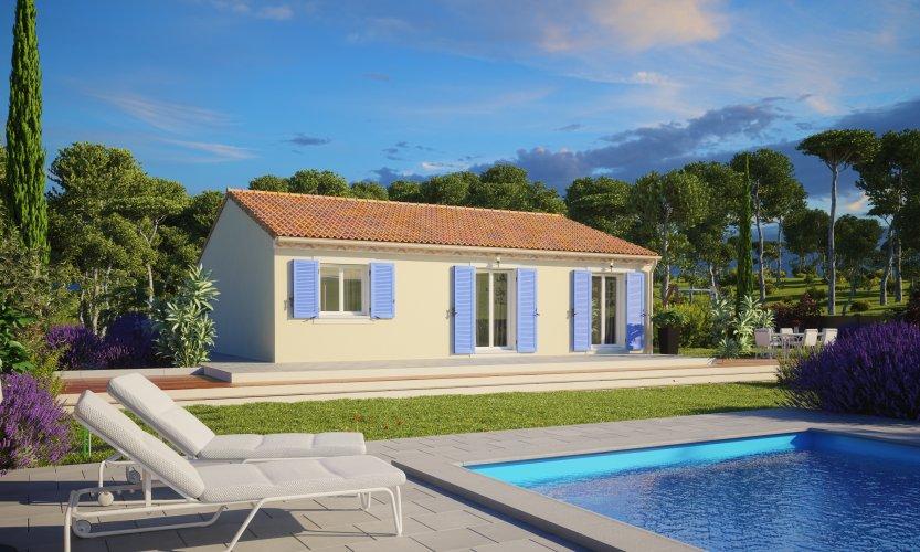 Maisons du constructeur MAISONS PIERRE NANTES SUD • 79 m² • VUE