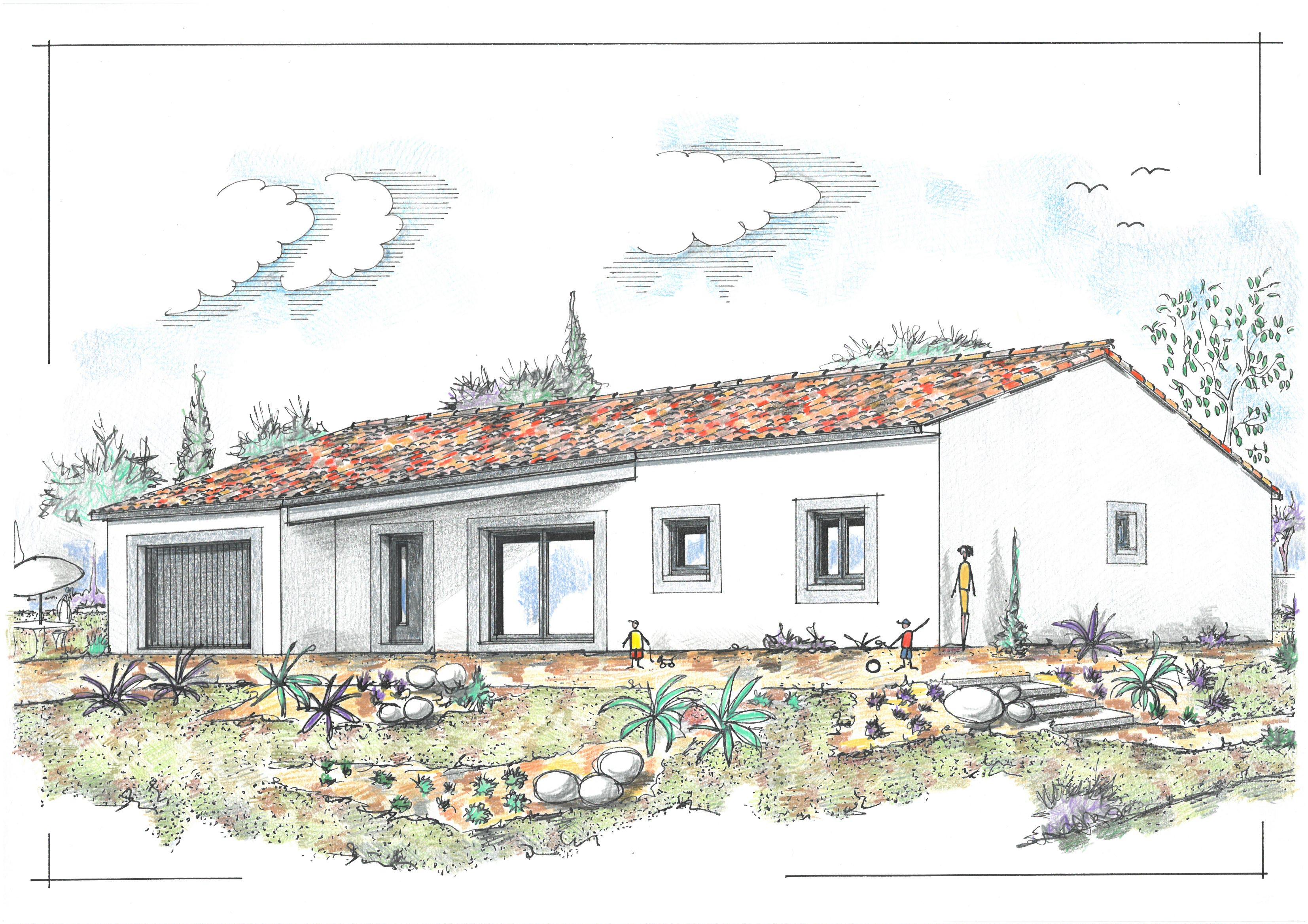 Maisons + Terrains du constructeur MAISONS DU PAYS CHARENTAIS • 71 m² • SAINT AUGUSTIN