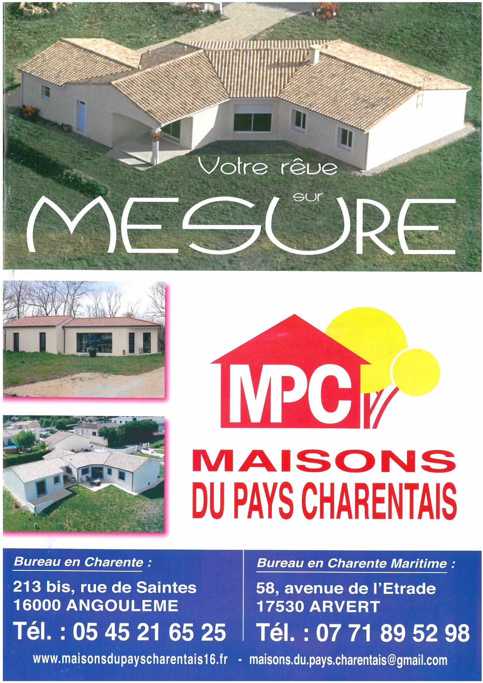 Maisons du constructeur MAISONS DU PAYS CHARENTAIS • 74 m² • LES MATHES