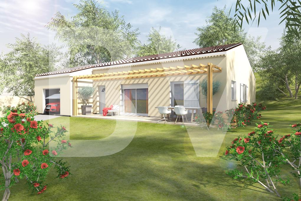 Maisons du constructeur BATIVILLA SARL A&K • 91 m² • MALATAVERNE
