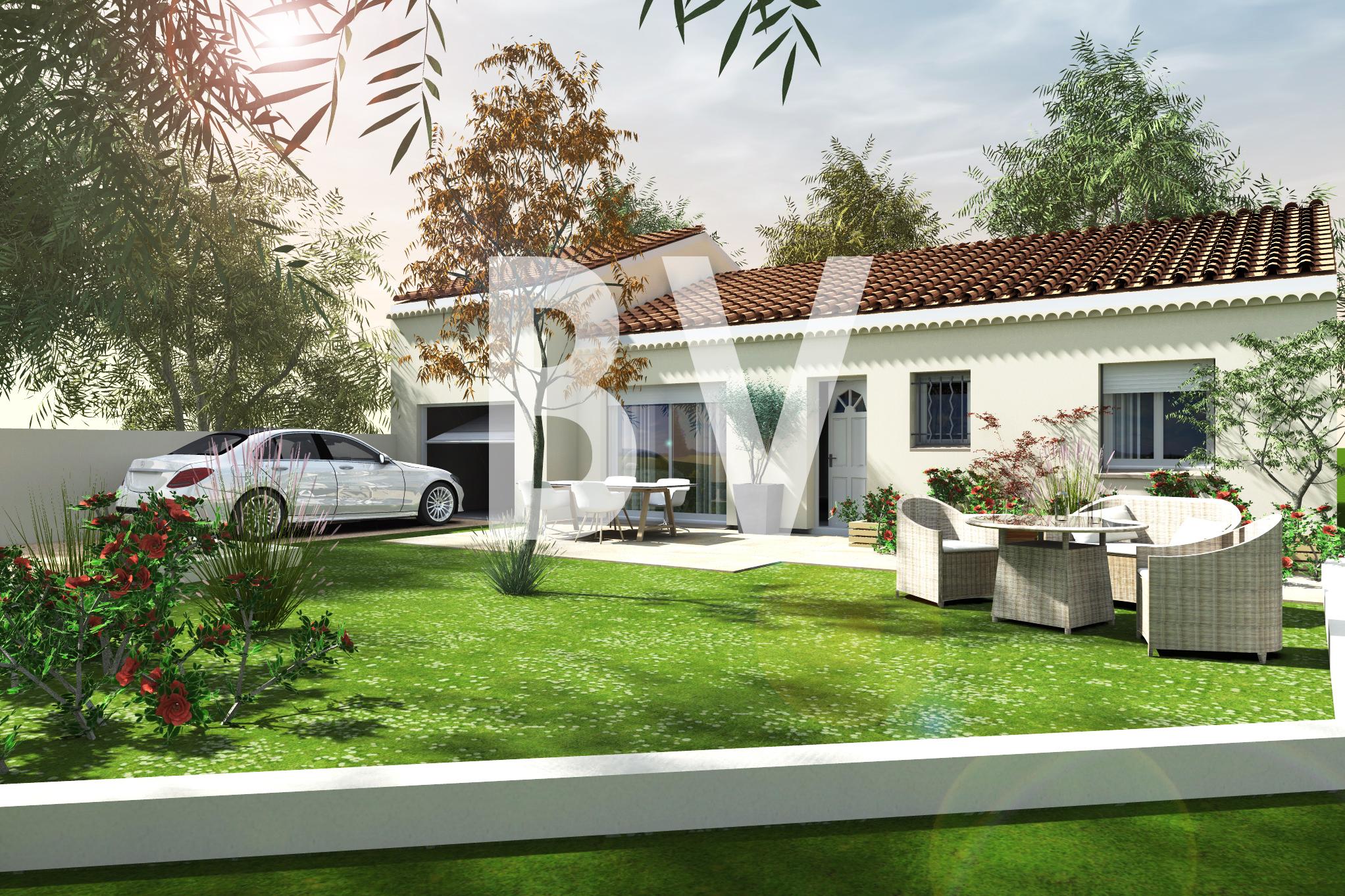 Maisons + Terrains du constructeur BATIVILLA SARL A&K • 85 m² • ROMANS SUR ISERE