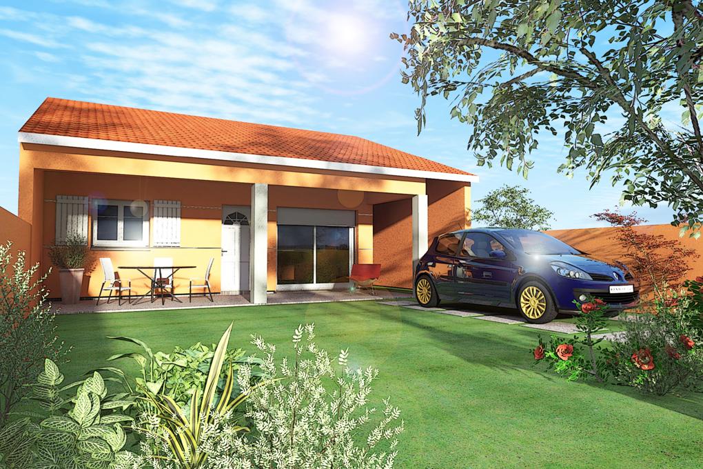 Maisons + Terrains du constructeur BATIVILLA SARL A&K • 65 m² • MOURS SAINT EUSEBE