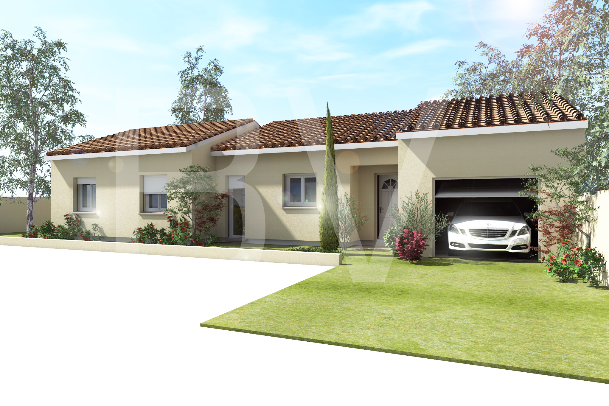 Maisons + Terrains du constructeur BATIVILLA SARL A&K • 90 m² • VEAUNES